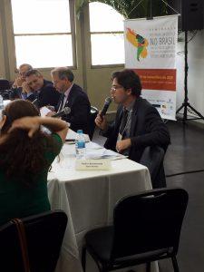 Conselheiro Fábio George destaca postura do CNMP de diálogo com os movimentos sociais.