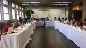 O Seminário foi realizado na UERJ dias 17, 18 e 19 de novembro de 2015