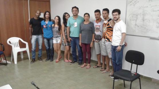 Participantes da oficina do Observatório do Sistema de Justiça do IPDMS.