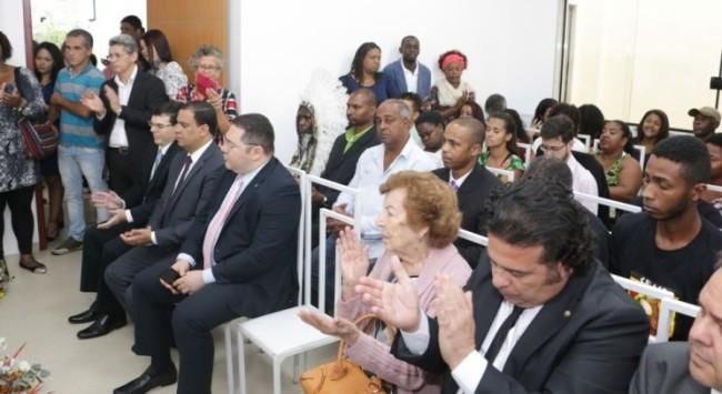 Público de defensores públicos federais e a população atendida pela DPU prestigiaram o evento